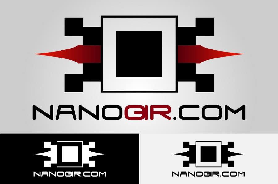 Kilpailutyö #                                        68                                      kilpailussa                                         Logo Design for NanoQR LLC, Paris