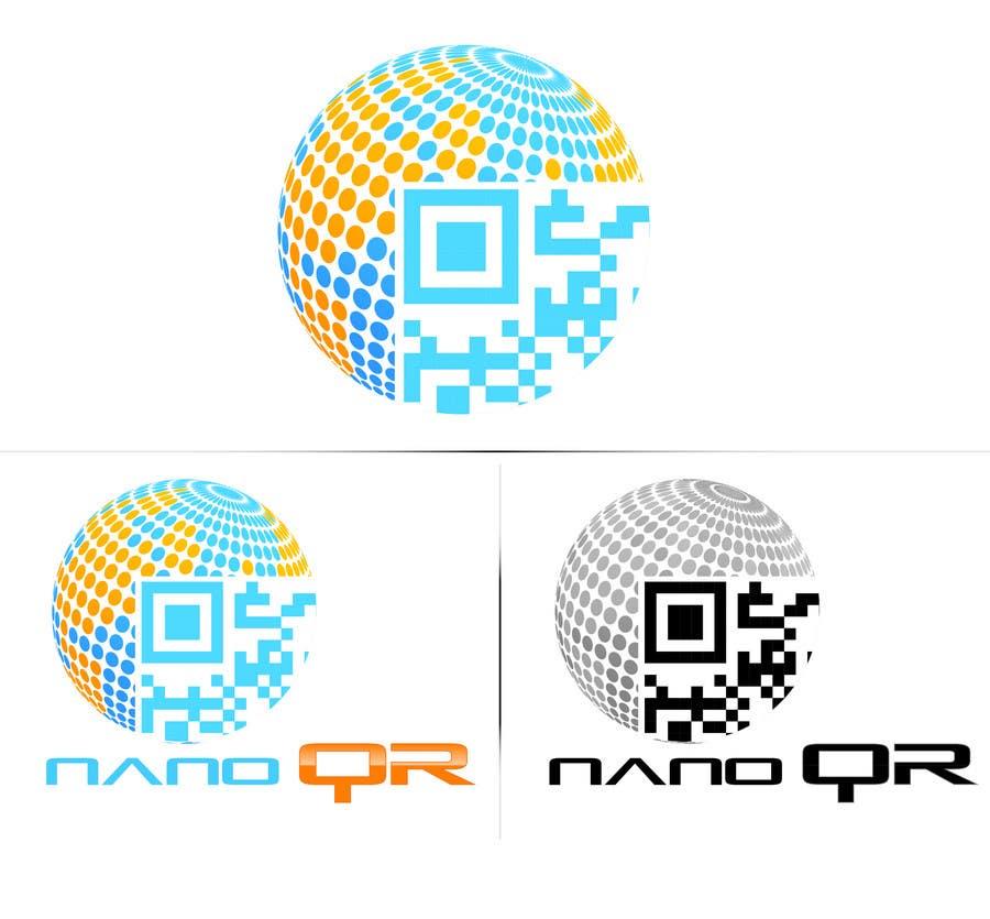 Kilpailutyö #                                        17                                      kilpailussa                                         Logo Design for NanoQR LLC, Paris