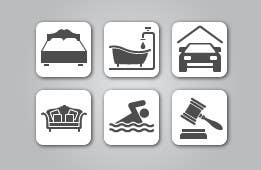Contest Entry #5 for Design some Icons for a small, part-time real estate agency