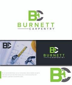 marts53 tarafından Burnett Carpentry Logo için no 19