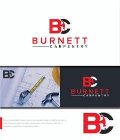 marts53 tarafından Burnett Carpentry Logo için no 111
