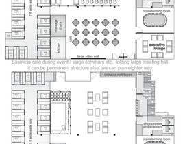 #17 for Architectural Floorplan Layout for PolarPointe Business Cafe by thefinalstory