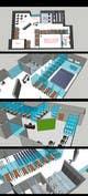 Ảnh thumbnail bài tham dự cuộc thi #                                                18                                              cho                                                 Architectural Floorplan Layout for PolarPointe Business Cafe