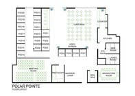 Graphic Design Entri Peraduan #10 for Architectural Floorplan Layout for PolarPointe Business Cafe