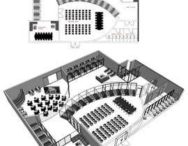 #15 untuk Architectural Floorplan Layout for PolarPointe Business Cafe oleh elyanj04