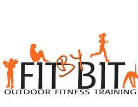#245 para Logo design for Fit By Bit personal and group fitness training por sparks3659