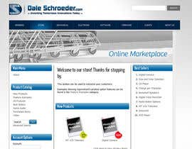 #6 for Design a Banner for Dale Schroeder.com Online Store by pixelke