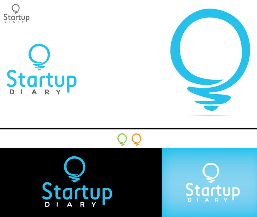 Urgent: Design a Logo for Startup Diary blog için 55 numaralı Yarışma Girdisi