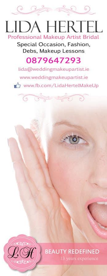 Penyertaan Peraduan #                                        8                                      untuk                                         Design a Pull-Up Banner for Makeup Artist
