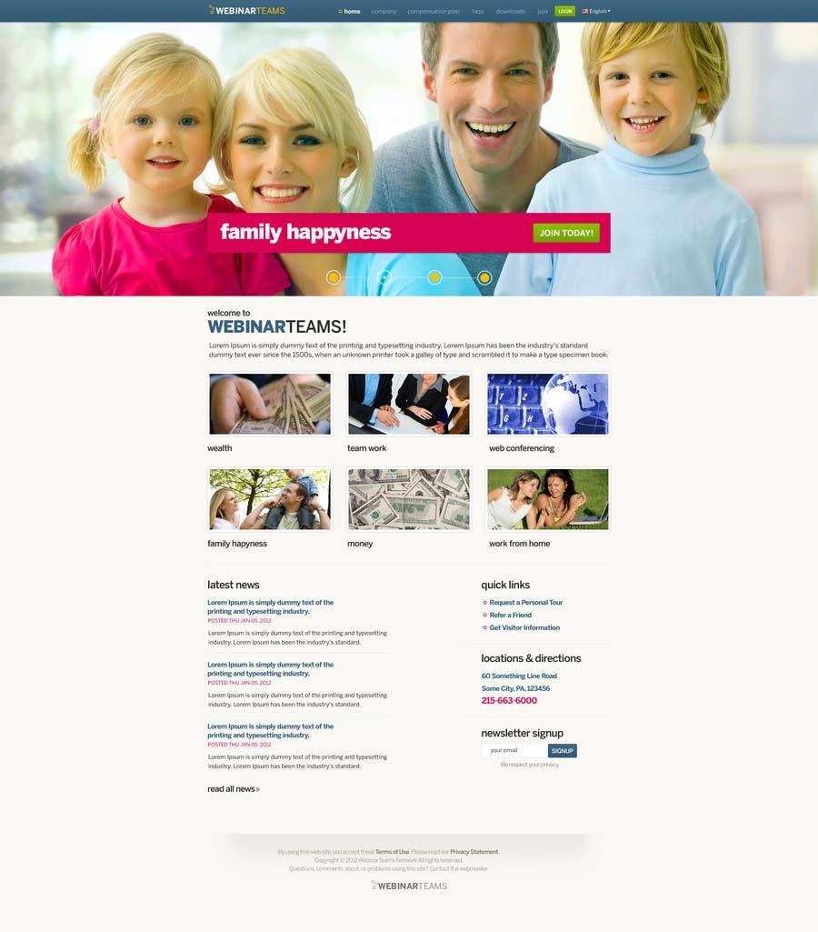 Konkurrenceindlæg #                                        28                                      for                                         Website Design for WebinarCompany