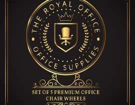"""Nro 40 kilpailuun design a label for a luxury office brand called """"The royal office"""" käyttäjältä luutrongtin89"""