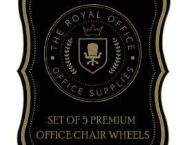 """Nro 65 kilpailuun design a label for a luxury office brand called """"The royal office"""" käyttäjältä madhyastudio"""