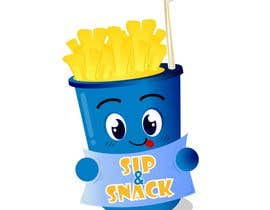 kipid tarafından Sip & Snack (french fries business logo) için no 21