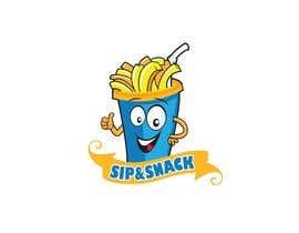 jiamun tarafından Sip & Snack (french fries business logo) için no 15