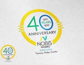Nro 196 kilpailuun 40th Anniversary Logo käyttäjältä MrDesi9n