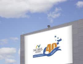 Nro 191 kilpailuun 40th Anniversary Logo käyttäjältä JeonMobarak