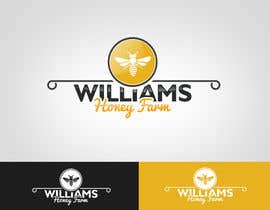 #108 cho Design a Logo for Williams Honey Farm bởi MonsterGraphics