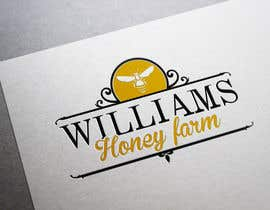 #28 para Design a Logo for Williams Honey Farm por BiancaN