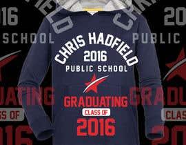 Nro 15 kilpailuun Design a T-Shirt for 2016 Graduates käyttäjältä nobelahamed19