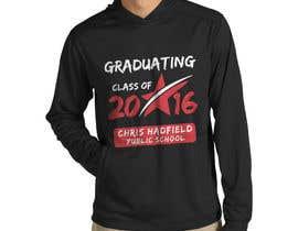 Nro 12 kilpailuun Design a T-Shirt for 2016 Graduates käyttäjältä Naumovski