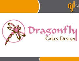 CasteloGD tarafından Design a Logo for Dragonfly Cake Design. 1/2 done already için no 2