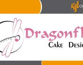 #24 untuk Design a Logo for Dragonfly Cake Design. 1/2 done already oleh CasteloGD