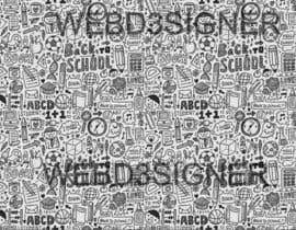 Nro 4 kilpailuun Design a background with party icons käyttäjältä prow3bdesigner