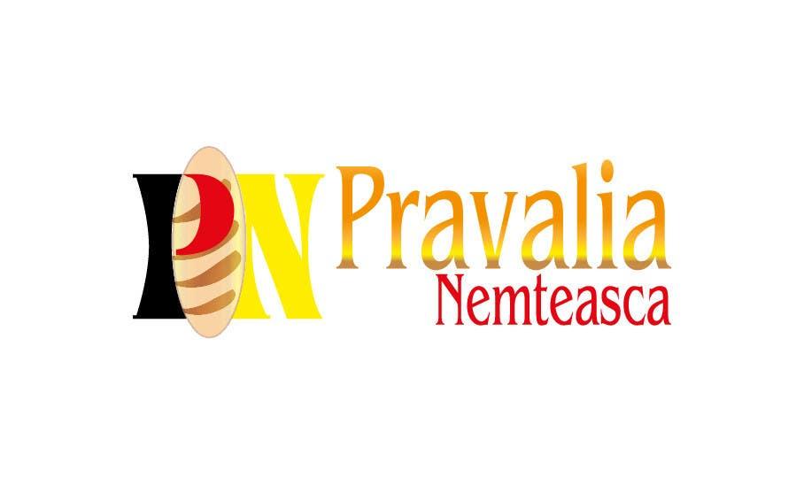 Penyertaan Peraduan #34 untuk Realizează un design de logo for Pravalia Nemteasca