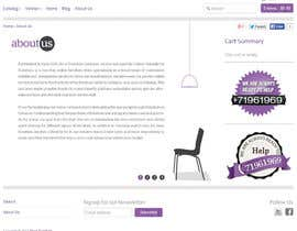 nº 1 pour Creative and Talanted designs needed for Stock Furniture About US page. par samazran