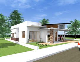 #16 for one story house design by SaiSengMain