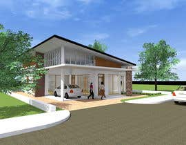 #17 for one story house design by SaiSengMain
