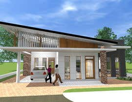 #40 for one story house design by SaiSengMain