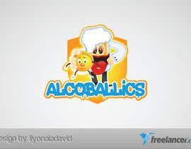 #39 para Design a Logo for Alcoballicks por liyonaladavid