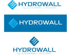 #80 para Design a Logo for Hydrowall por b74design