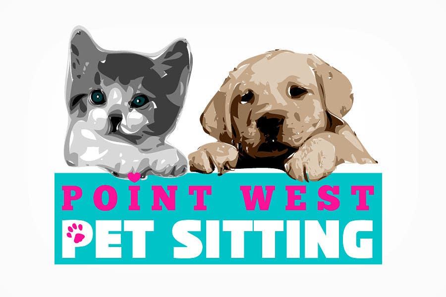 Kilpailutyö #                                        637                                      kilpailussa                                         Logo Design for Point West Pet Sitting