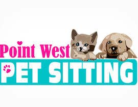 #686 untuk Logo Design for Point West Pet Sitting oleh tarakbr