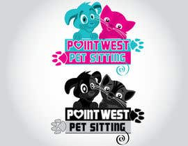 #608 untuk Logo Design for Point West Pet Sitting oleh iwsolution11