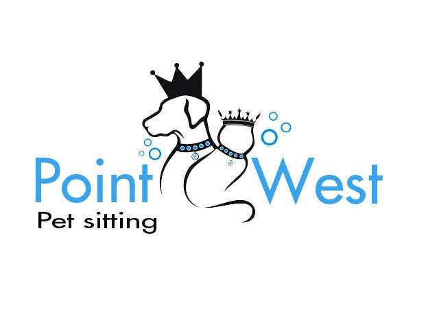 Kilpailutyö #                                        687                                      kilpailussa                                         Logo Design for Point West Pet Sitting