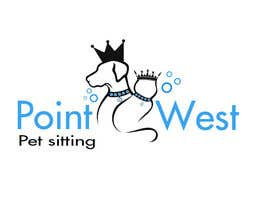 #687 untuk Logo Design for Point West Pet Sitting oleh kingspouch