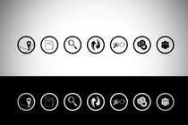 Bài tham dự #7 về Graphic Design cho cuộc thi Re-design 7 icons for A.S.T.R.A