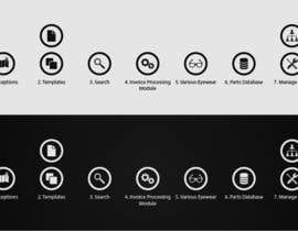 #12 para Re-design 7 icons for A.S.T.R.A por Rendra5