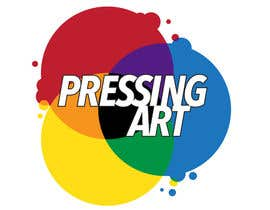 nº 22 pour Design a logo for the contest called Pressing Art! par madelinemcguigan