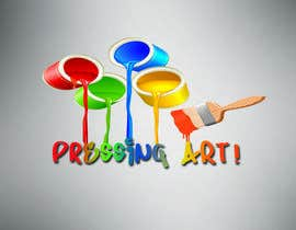 nº 12 pour Design a logo for the contest called Pressing Art! par ixmarian