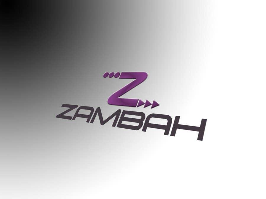 Kilpailutyö #54 kilpailussa Design a Logo for Zambah app