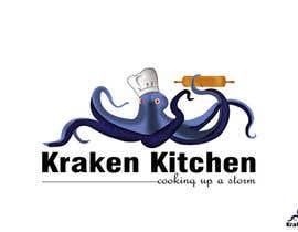 darkribbon tarafından Logo Design for Kraken Kitchen için no 38