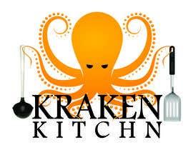 waqasalii tarafından Logo Design for Kraken Kitchen için no 16
