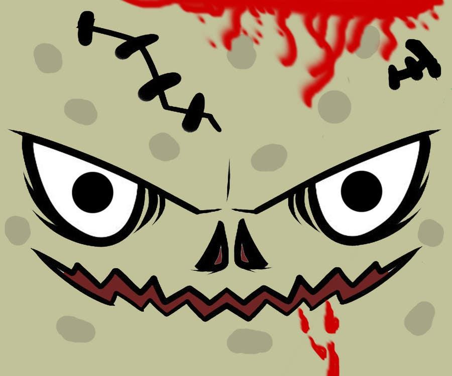 Inscrição nº 24 do Concurso para Design a Zombie Themed logo for a mousepad