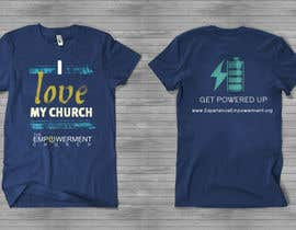 #15 para Design a T-Shirt for The Empowerment Church por reblien