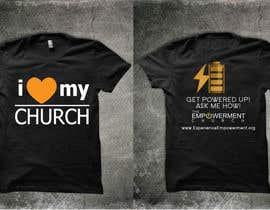 #24 para Design a T-Shirt for The Empowerment Church por reblien