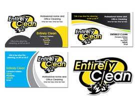 Nro 32 kilpailuun Design a Logo and Business Card for Cleaning Company. käyttäjältä MyPrints